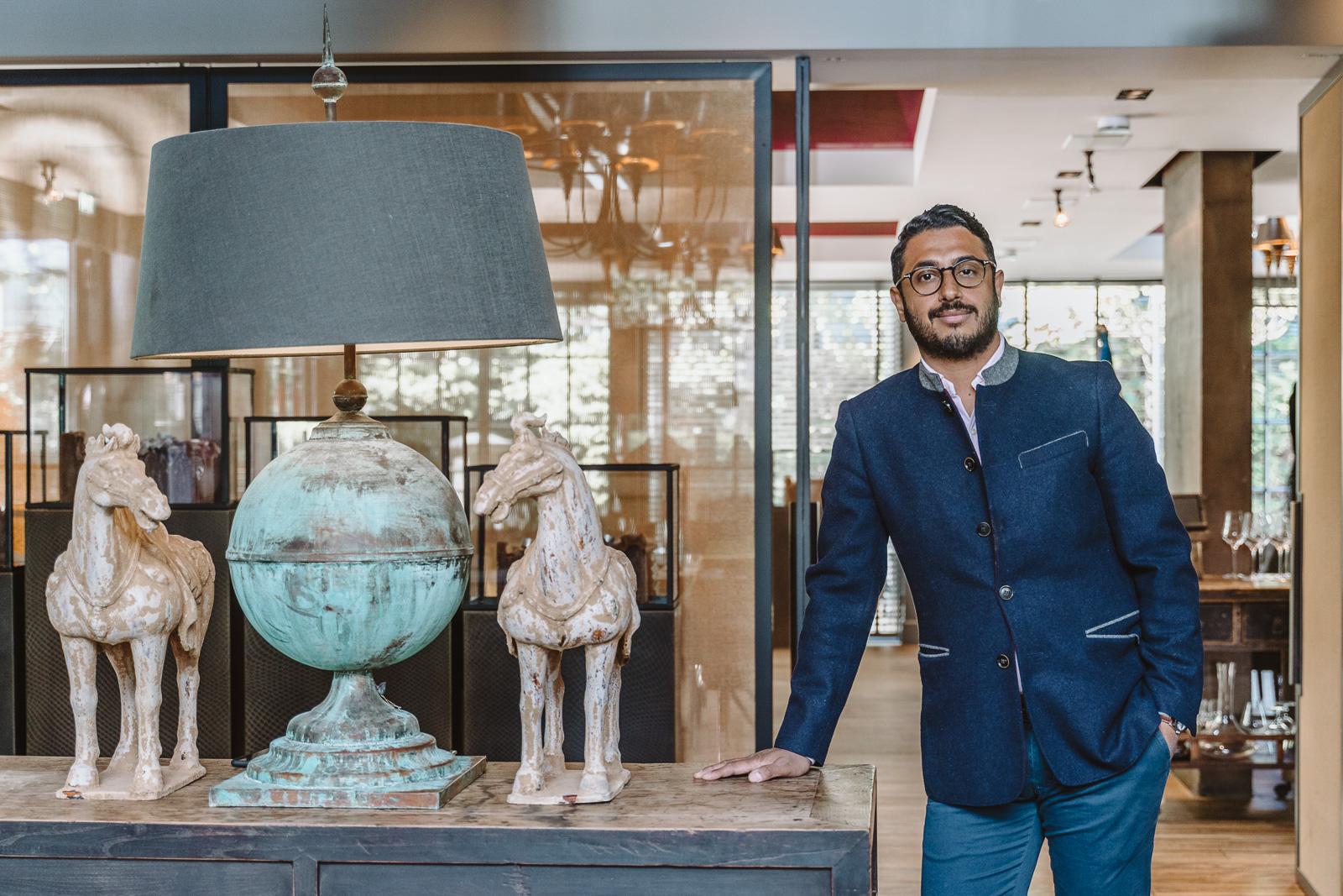 Businessportrait - Oskar in der Remise in Bonn