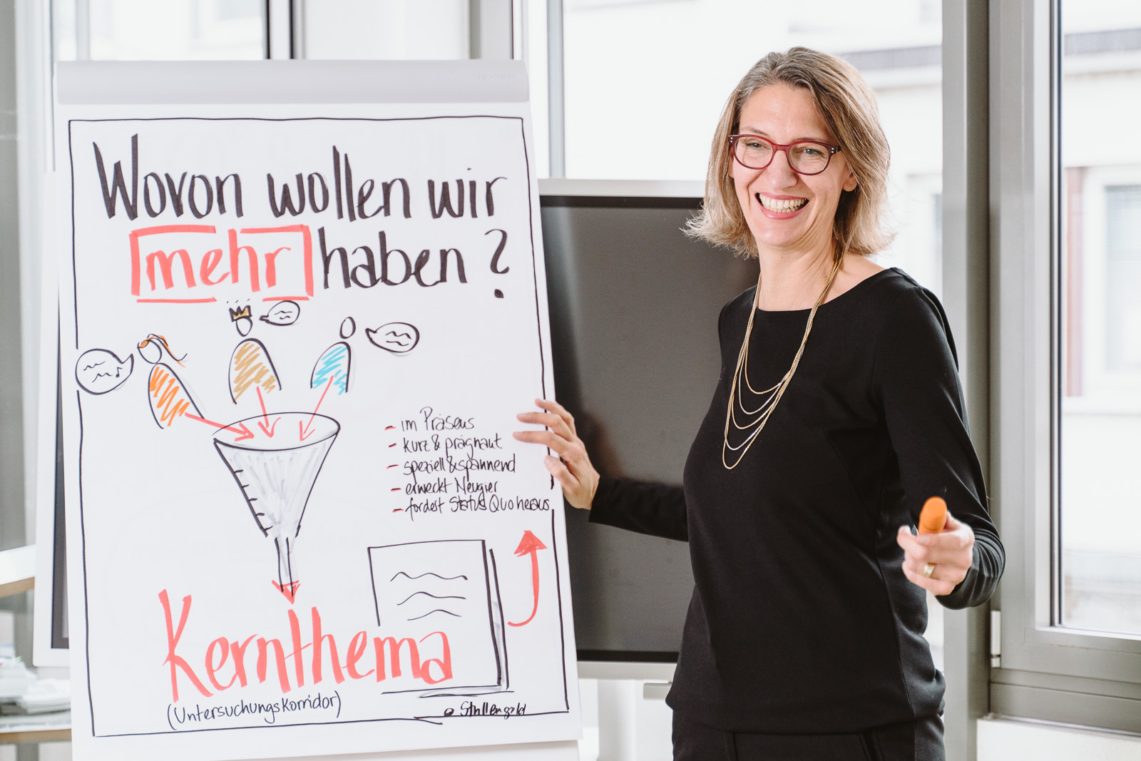 Coach im Seminar - Businessporträts Fotograf Bonn