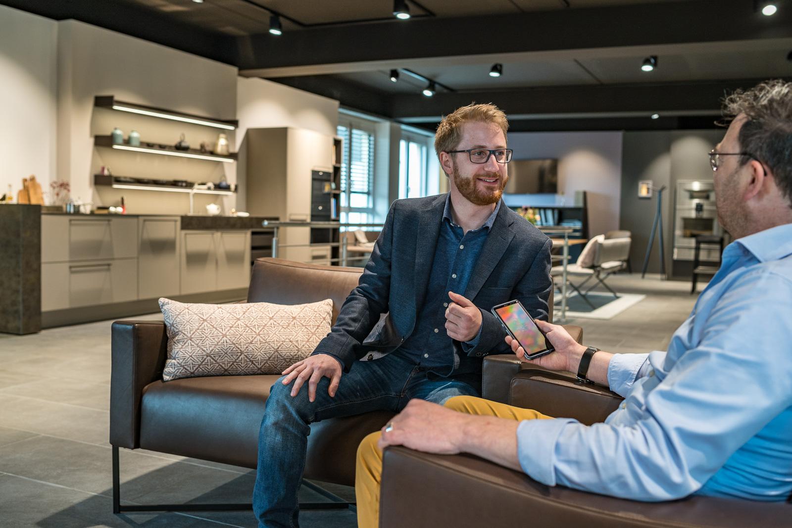 Küchen Galerie Bonn Christian Schröter im Interview - Businessshooting Bernadett Yehdou