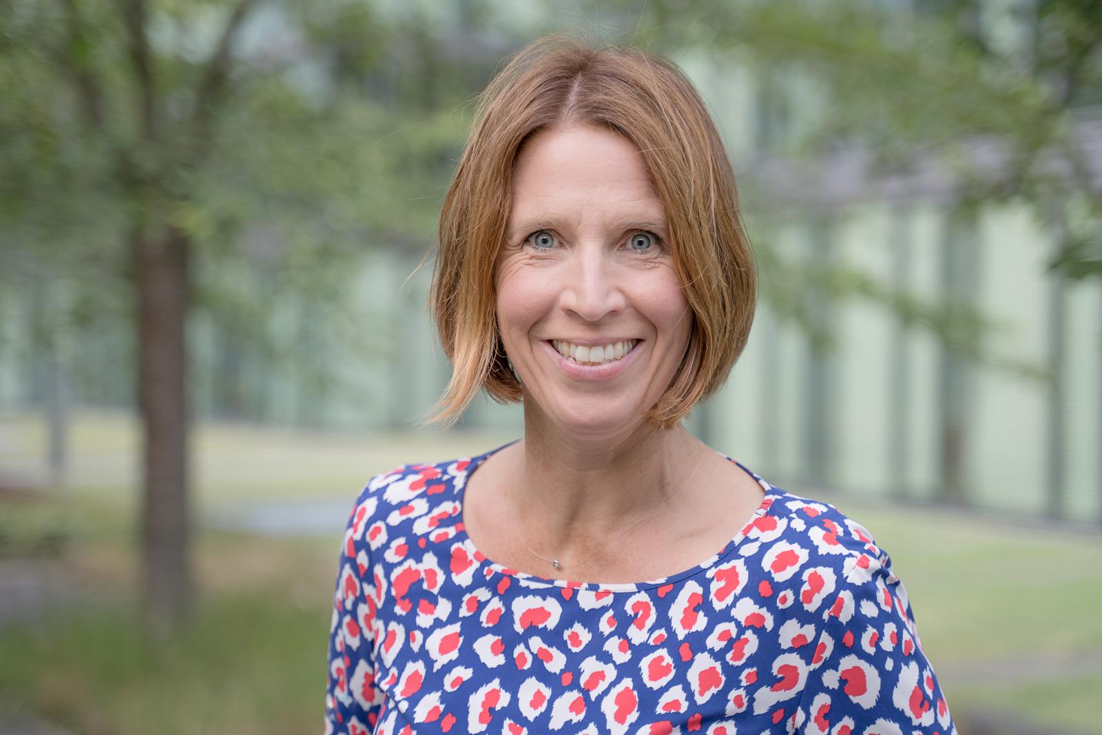 Frauenporträt outdoor - Coach Heike Koch-Bornemann