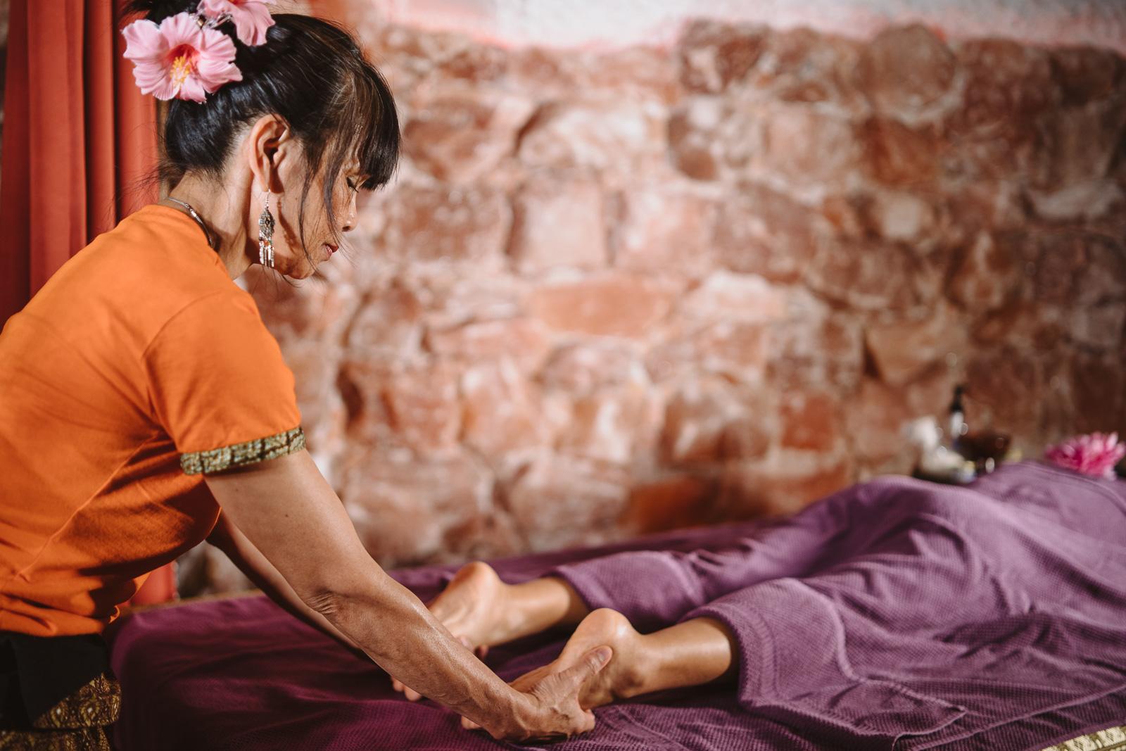 Unternehmensreportage - Salzgrotte Beuel Vital - Massage