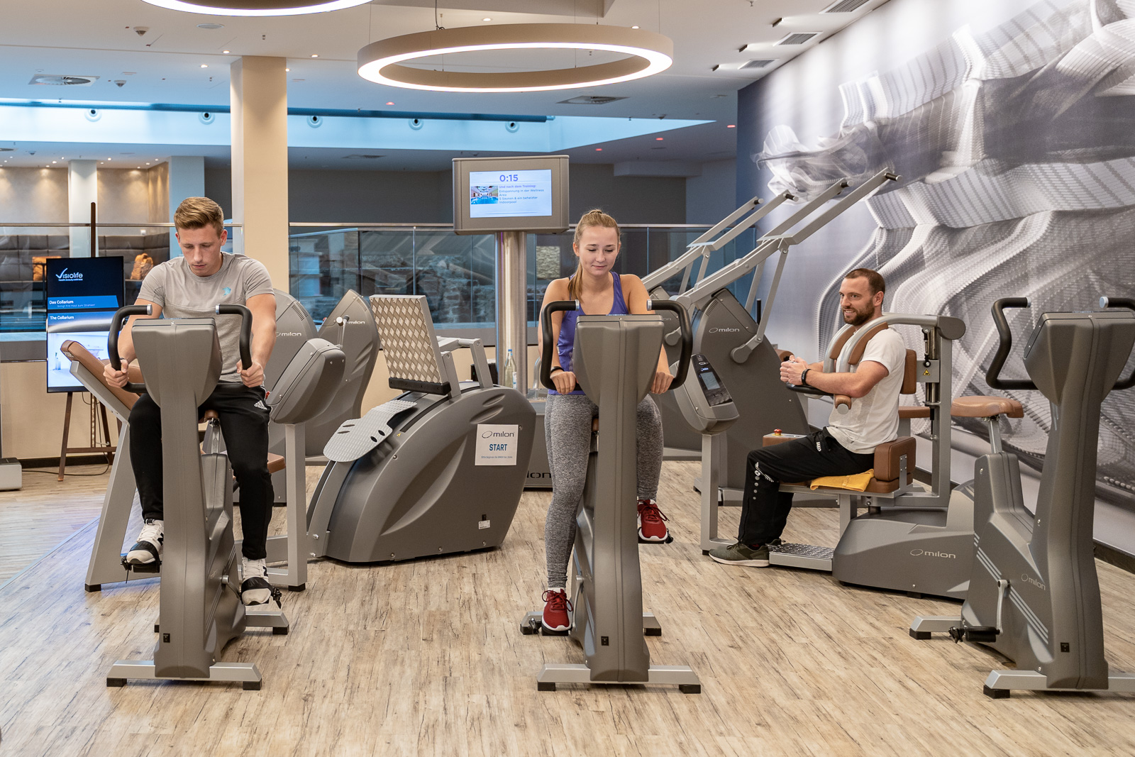 Unternehmensfotografie - Visiolife im Bonn Marriott Hotel - Fitnesscenter
