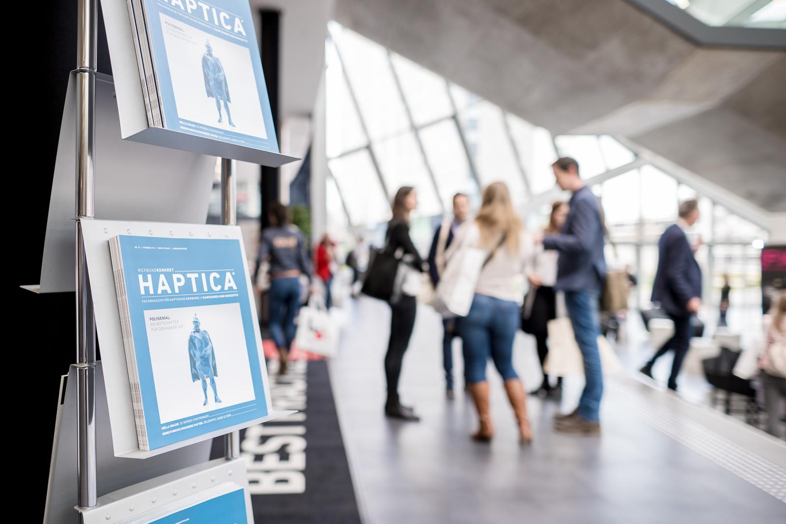 Messefotografie - Haptica - Bonn - Veranstalter WA Media - Messehalle
