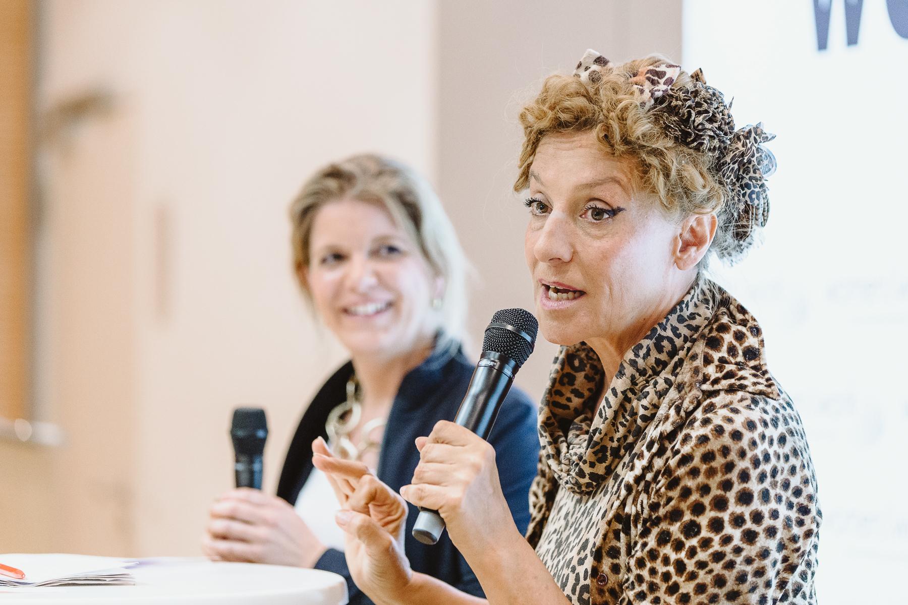 """Kongressfotografie - women&work - Sissi Perlinger VIP-Gast und eingeladen zum Schwerpunktthema """"Lebensdesign"""""""