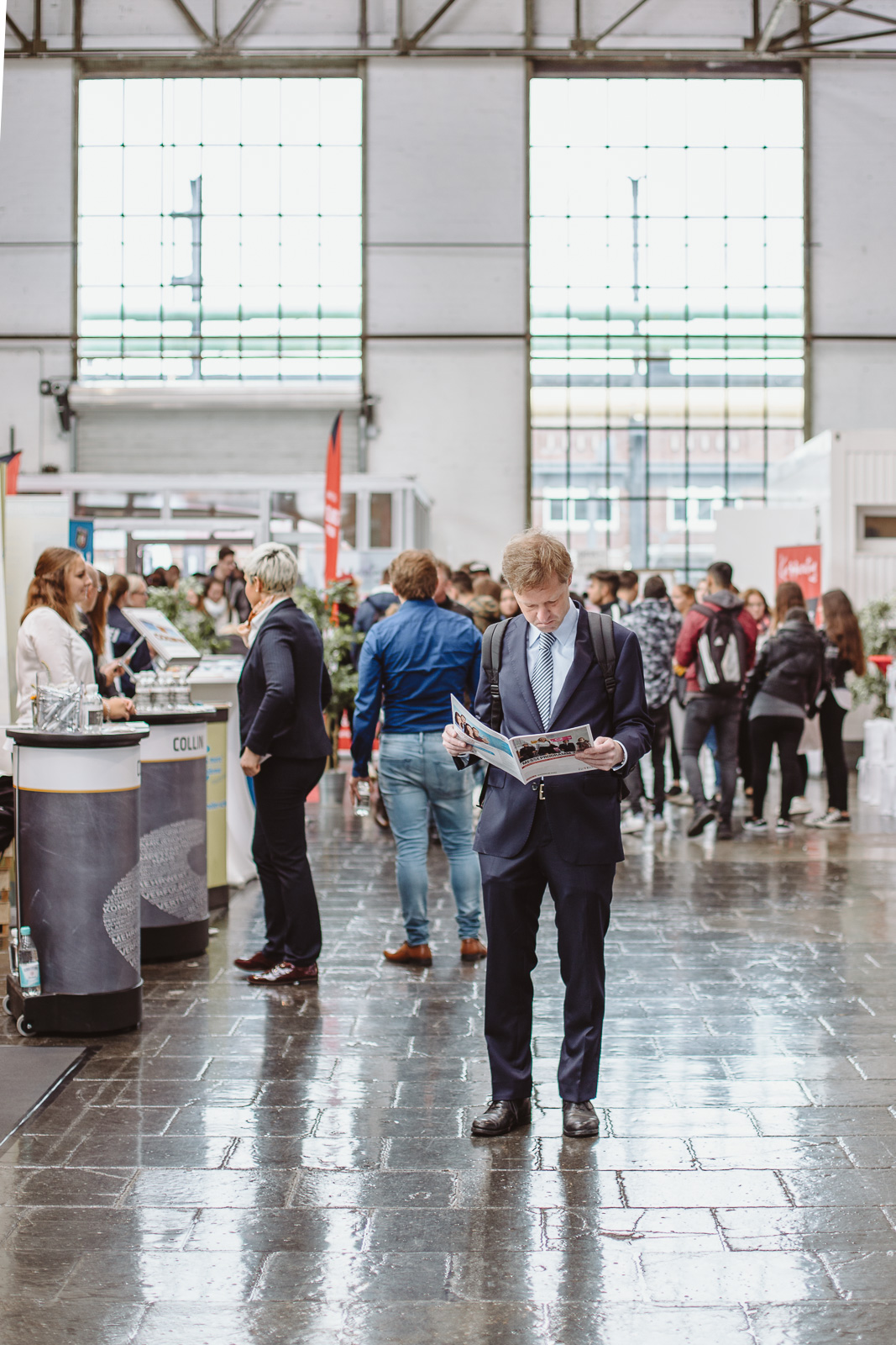 Messefotografie - Reportagefotografie - viele Besucher -Karrieretag