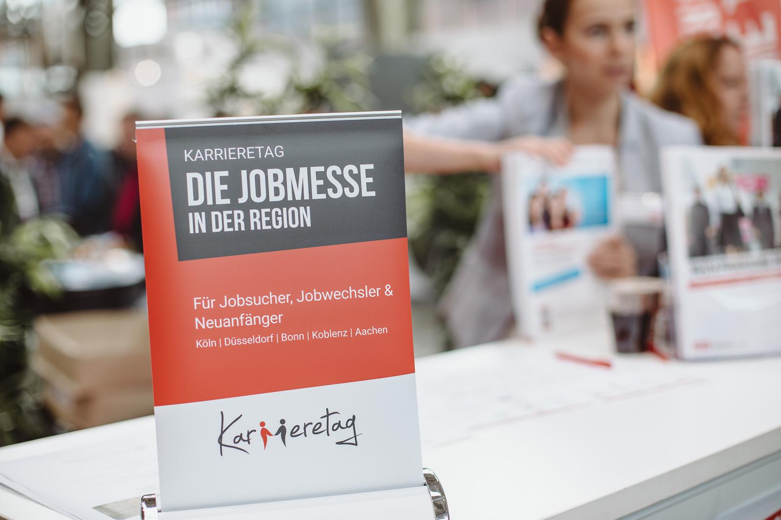 Messefotografie - Reportagefotografie - Kalaydo Jobmesse -Informationsschalter