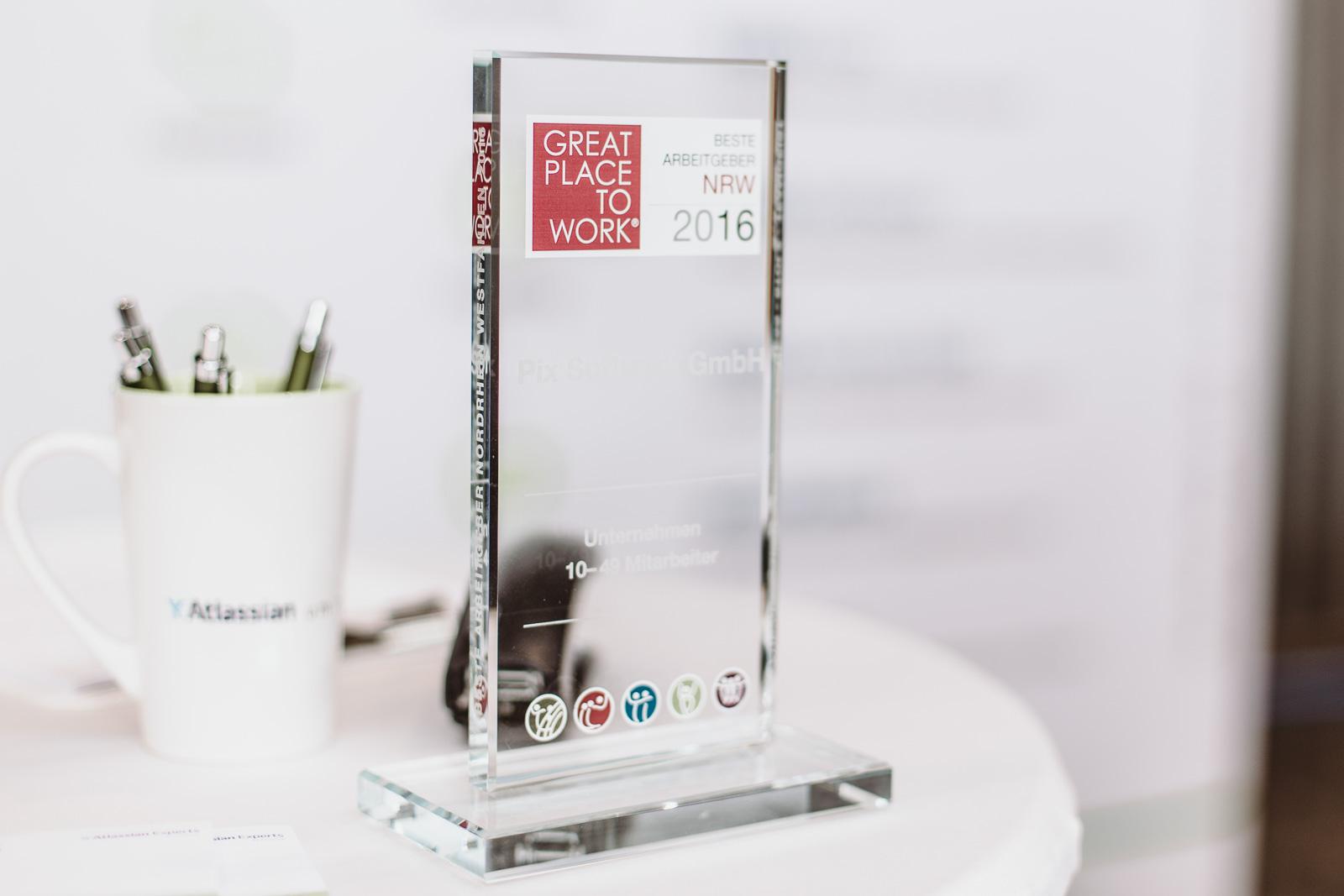 natürliche Reportagefotografie - Gewinnerpokal