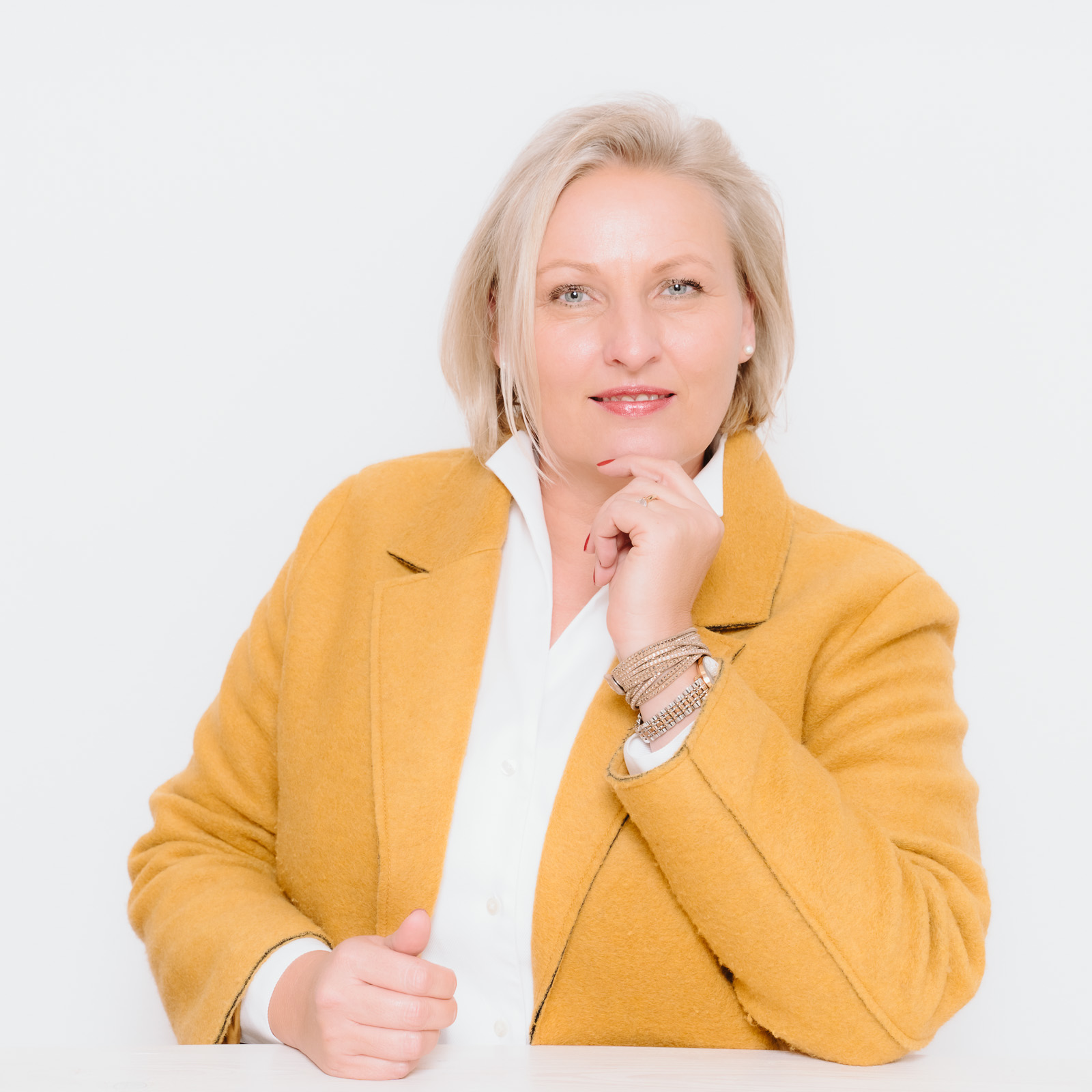 Businessporträts - Logopädin Kerstin Winterboer im Shooting