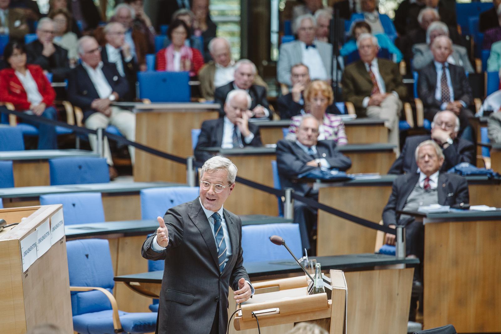 Konferenzfotografie - Dr. Norbert Röttgen - Wasserwerkgespräch der Konrad-Adenauer-Stifung