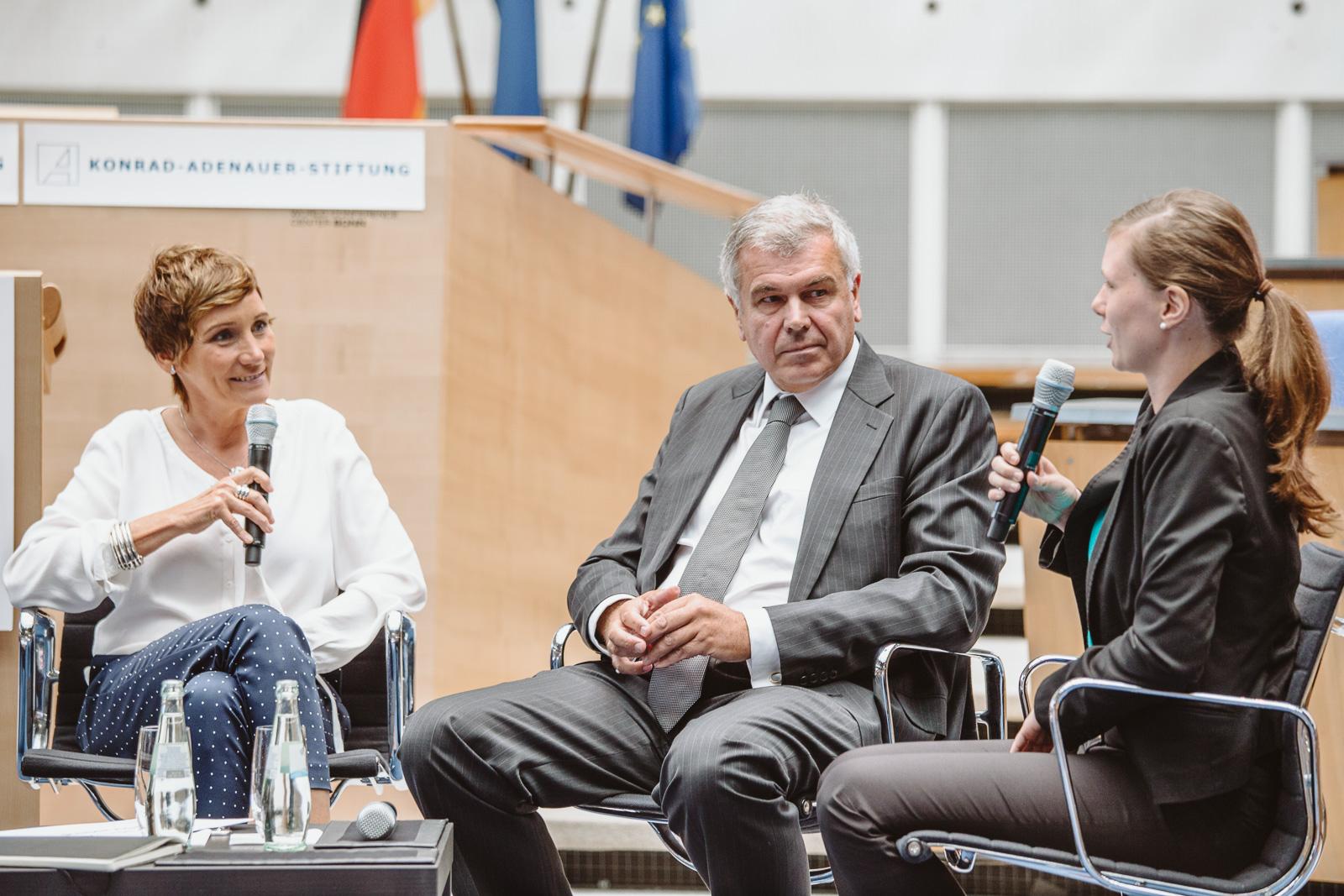 Konferenzfotografie - Disskusion - Wasserwerkgespräch der Konrad-Adenauer-Stifung